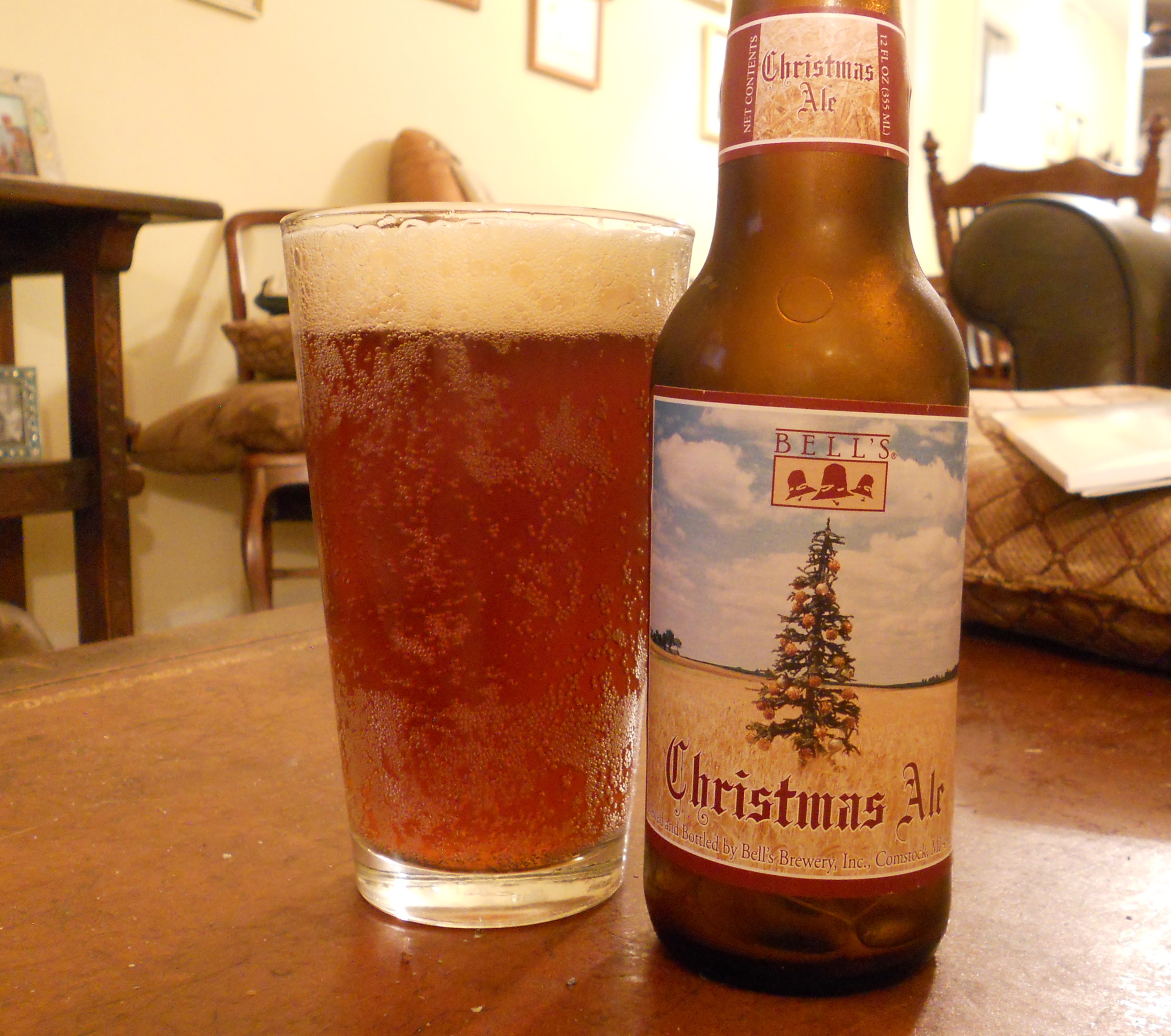 Bells Christmas Ale.The Third Day Of Christmas Bell S Christmas Ale Tilting Suds